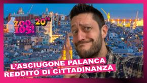 L'Asciugone Palanca: reddito di cittadinanza