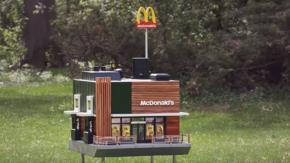 Il più piccolo McDonald's al mondo è un ristorante per le api!