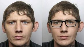 """Ricercato """"genio del travestimento"""" usa un paio di occhiali per non farsi scoprire: arrestato!"""