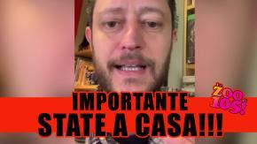 Fabio Alisei: STATE A CASA! #coronavirus