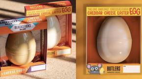 Arrivano le uova di Pasqua al formaggio!