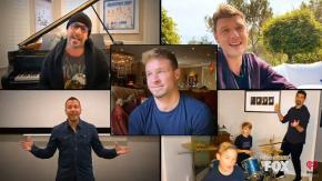 "I Backstreet Boys ricreano ""I Want It That Way""da casa e il video è un successo clamoroso!"