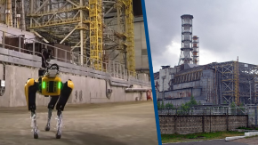 Boston Dynamics ha inviato un cane robot a Cernobyl