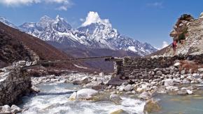 L'Himalaya è visibile per la prima volta in 30 anni da alcune zone dell'india