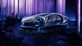 Presentata la Mercedes dal concept futuristico e senza volante