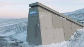Oreo ha realizzato un bunker per conservare la ricetta dei biscotti a possibili apocalissi