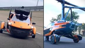 L'auto volante a tre ruote ottiene l'approvazione per guidare in strada