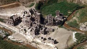 Il villaggio medievale in Toscana sommerso per anni riemergerà nel 2021!