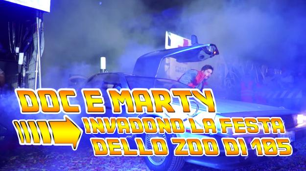 #ZOO20: Doc e Marty invadono la festa dello Zoo di 105