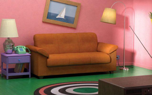 Ikea Riproduce Fedelmente Il Salotto Dei Simpson E Tanti